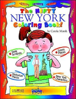 The Nifty New York Coloring Book