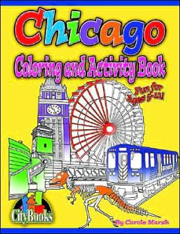 Chicago Coloring & Activity Book