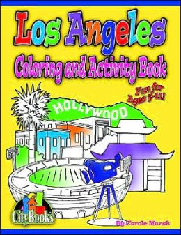Los Angeles Coloring and Activity Book
