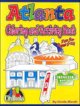 Atlanta Coloring & Activity Book