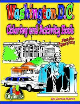 Washington, D.C. Coloring & Activity Book
