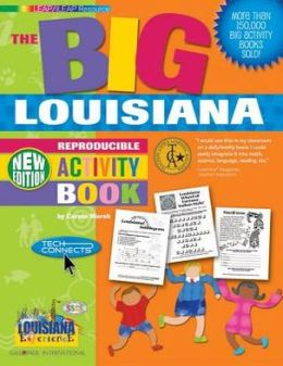 Big Louisiana Activity Book