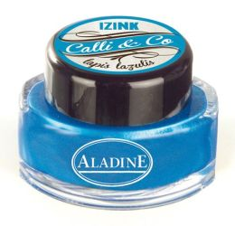 Pearl Blue Calligraphy Ink