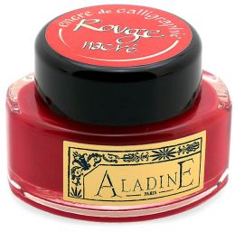 Pearl Red Calligraphy Ink