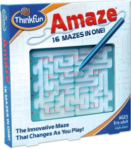 Amaze 16 Mazes in One Game