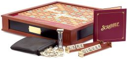 Premier Wood Scrabble Game