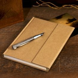 Natural Kraft Magnetic Wrap Journal (6