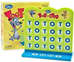 Toot and Otto Simple Strategy Game