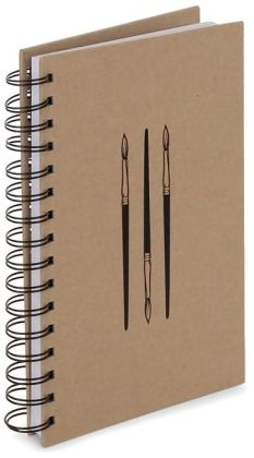 Kraft Icons Spiral Sketchbook (8.5
