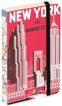 Mini Red New York The Wonder City Journal 4x6