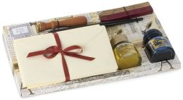 Calligraphy Gift Set with Stationery and Inks