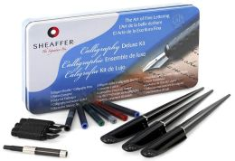 Calligraphy Deluxe Pen Tin Kit