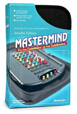 Mastermind Attache Travel game