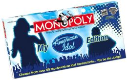 My American Idol Monopoly Game