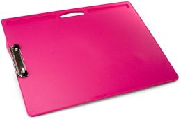 Pink Jumbo Lapdesk with Clip