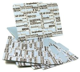 Jonathan Adler Words File Folders, Set of Six (9x12)