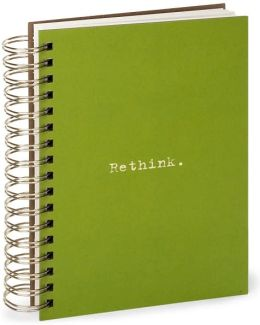 100% Recycled Jumbo Green Rethink Spiral Journal