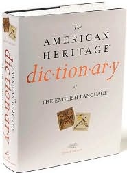 The American Heritage Dictionary of the English Language, 4th Edition