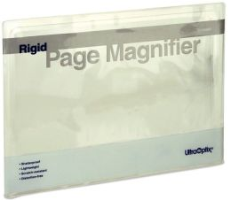 Rigid Full Page Magnifier 8.5x11