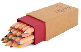 Colored Pencils in Kraft Icon Box Set of 20