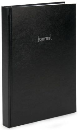 Black Basic Lined Journal 7