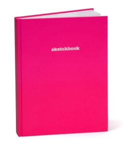 Hot Pink Basic Sketchbook 8