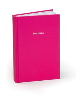 Hot Pink Lined Journal 5