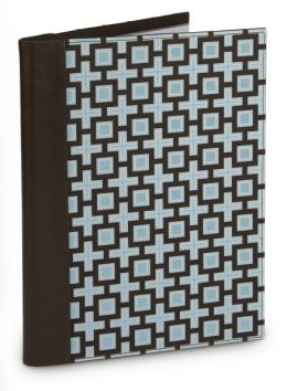 Jonathan Adler Blue Kensington Fabric Presentation Book (9.75 x 12.75)
