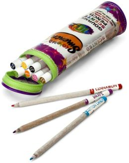 Smencils Gourmet-Scented Colored Pencils in Pouch - Set of 10