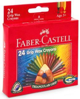 Triangular Grip Crayons: 24 CT.