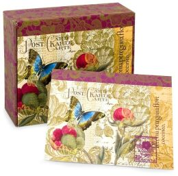 Tranquil Garden Memento Box Recycled Note Cards Set of 25