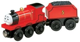 Thomas & Friends Wooden Vehicle - James the Red Engine