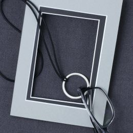 Small New Circle Eyecatcher lead free pewter palladium finish