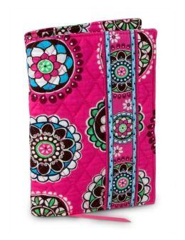 Vera Bradley Cupcake Pink Fabric Paper Back Book Cover (5.5x7.5)