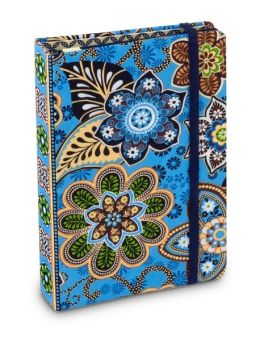 Vera Bradley Bali Blue Small Accordion Organizer