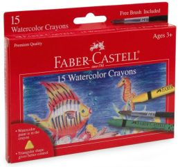 15 count watercolor crayons