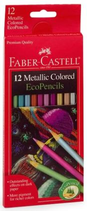 12 count metallic color pencils