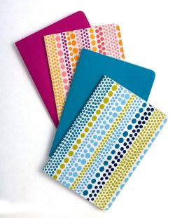 Jonathan Adler Weight Assorted Colors Paper Notebooks -Set of 4