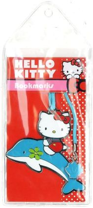 Dolphin Hello Kitty Metal Bookmark