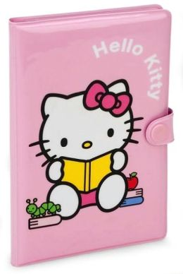 Hello Kitty Mini Stationery Set Portfolio Set Pink