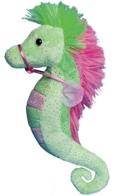 Doll: Lime & Pink Sea Horse