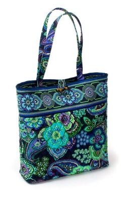 Vera Bradley Blue Rhapsody Fabric Tote Bag (15