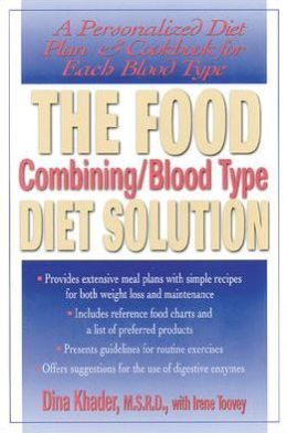 The Food Combining/Blood Type Diet Solution