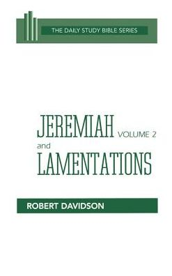 Jeremiah Volume 2, And Lamentations