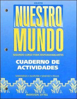 McDougal Littell Tu mundo Nuestro mundo: Workbook (Student) Nuestro Mundo Grades 9-12
