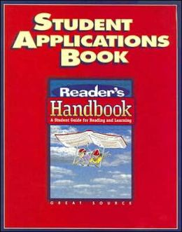 Great Source Reader's Handbooks: Student Application Book Grade 8