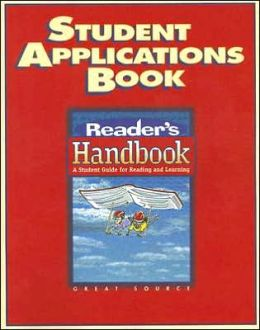 Great Source Reader's Handbooks: Student Application Book Grade 6 2002
