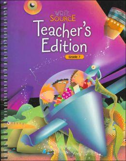 Write Source Teacher's Edition Grade 7