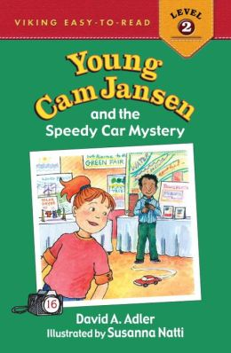 Young Cam Jansen and the Speedy Car Mystery (Young Cam Jansen Series #16)