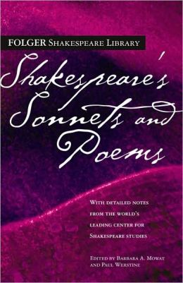 Shakespeare's Sonnets and Poems (Folger Shakespeare Library Series)